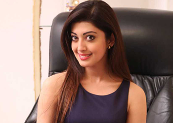 Pranitha looking Gorgeous in Purple (pic of the day)