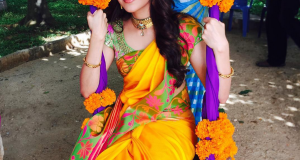 kajal in shhotingspot