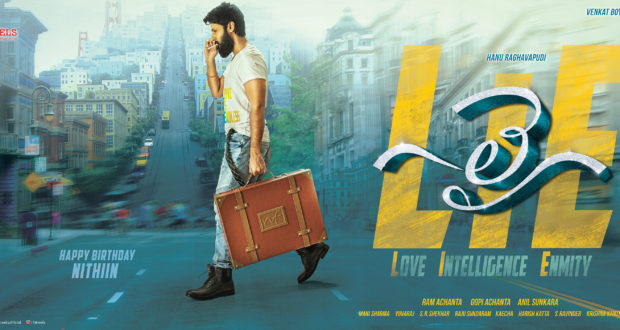 "NITHIN movie ""LIE"" stills released on his Birthday"