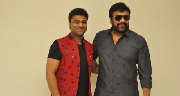 Devi Sri Prasad's video songs promo launch by Mega Star Chiranjeevi