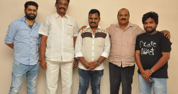 Angel Movie teaser launch Event stills