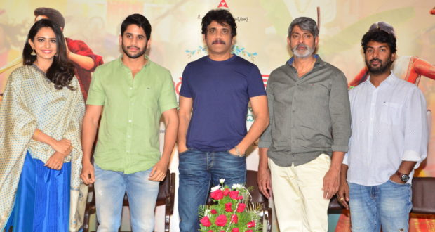 Ra Randoyi Veduka Chuddam movie press meet pics