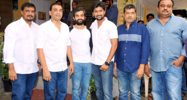 Nani and Dil Raju's MCA Movie Opening stills
