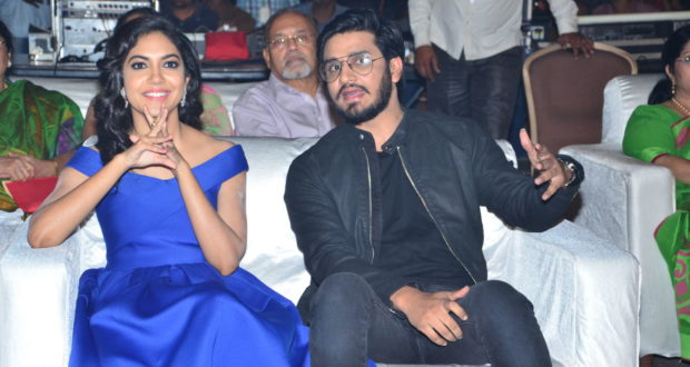 keshava movie audio launch stills