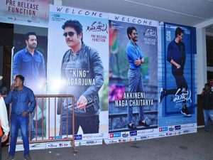 Mr Majnu Movie Pre Release Set O1