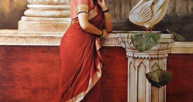 South Actresses in Ravi varma Paintings Photoshoot